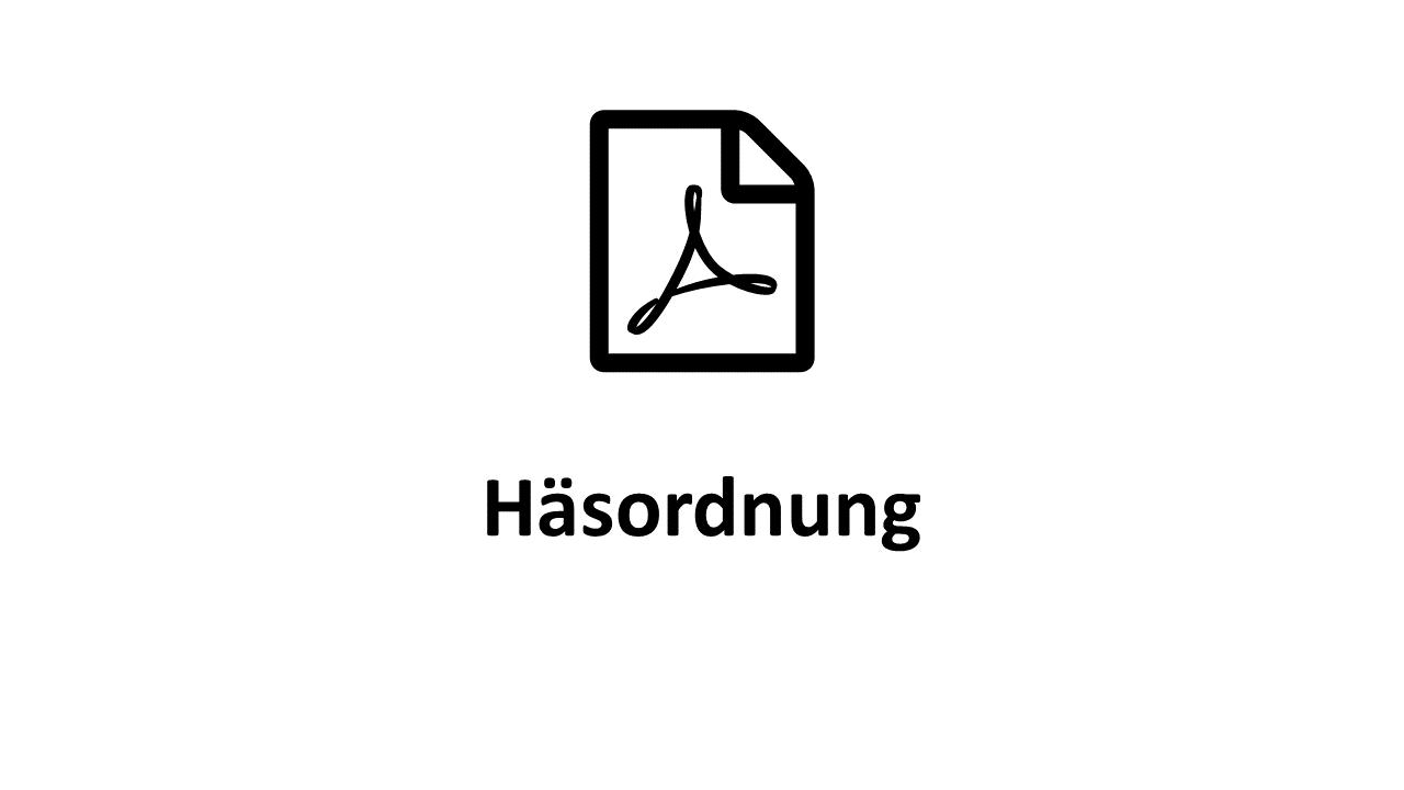 Häsordnung